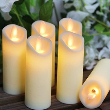 LED Flameless Candle Lights, Battery Powered