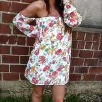 Straight Forward Floral Dress | The Rage
