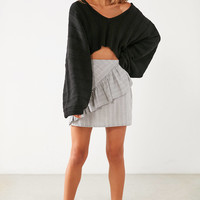 Silence + Noise Slouchy Ribbed High/Low Sweater | Urban Outfitters