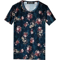 Skulls and Roses Tee