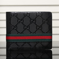 Best Gifts Gucci Man Leather Purse Wallet