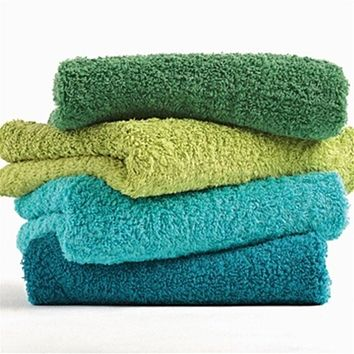 Super Pile Bath Towels by Abyss and Habidecor
