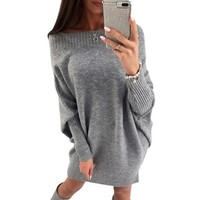 Victoria knitted sweater dress