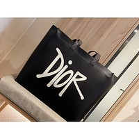 Dior Women Leather Shoulder Bags Satchel Tote Bag Handbag Shopping Leather Crossbody
