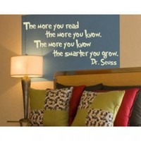 Alphabet Garden Designs The More You Read Wall Decal - child026 - All Wall Art - Wall Art & Coverings - Decor