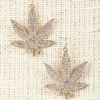 Leaf Accent Earrings