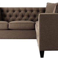 Lakewood Tufted Sectional - Sofas & Loveseats - Living Room - Furniture | HomeDecorators.com