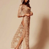 Gayle Gown Gold