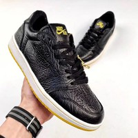 Nike Air Jordan 1 low Black&Yellow