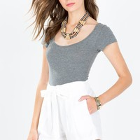 Perfectly Preppy Linen Short