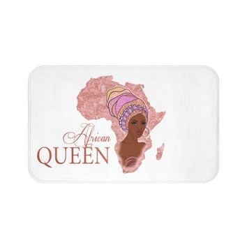 African Queen Velvet Soft Bath Mat Collection