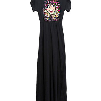 Veronica's Head Archie Long Maxi Dress Gown
