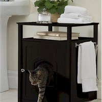 Cat Washroom and Night Stand
