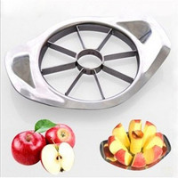 Stainless Steel Apple Slicer Fruit Vegetable Tools Kitchen Accessories Dining bar Utensil Tool Home & Garden