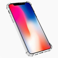 Transparent Soft Cover Airbag Anti-drop Mobile Phone Case for iPhone 11 Pro Max