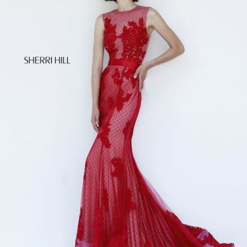 2014 Sherri Hill Sexy Back Homecoming Dress 4325