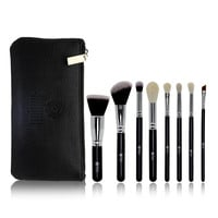 On Sale Make-up Beauty Hot Deal Hot Sale Makeup Brush Sets Zippers Wool Make-up Brush [9647070607]