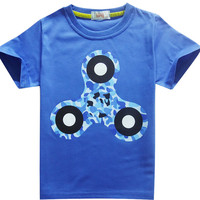 Tri-Spinner Fidget T Shirt Kids Clothing