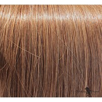"16"" Clip In Remy Hair Extensions: Light Brown No. 8"