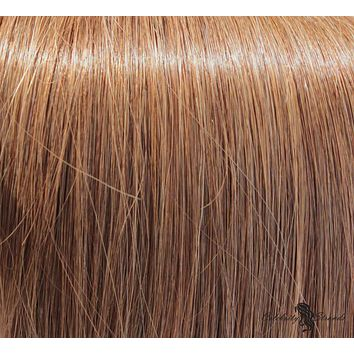 """16"""" Clip In Remy Hair Extensions: Light Brown No. 8"""