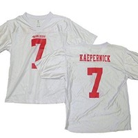 Colin Kaepernick San Francisco 49ers All White Youth Jersey