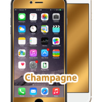 iPhone 6/6s Plus Champagne Gold GlassShield Luxury Screen Protection