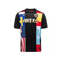Nike Men's FC Football Club Training World Cup Black Jersey Tee