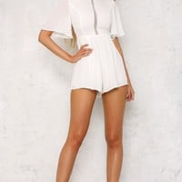 Army Of Lovers Playsuit White