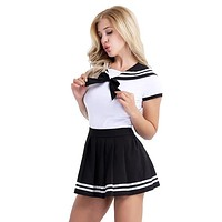 School Girls Sexy with Mini Pleated Skirt Costumes