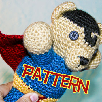 Super Bear Amigurumi Pattern