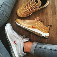AIR MAX 97 NIKE  fashion trends sports running shoes F