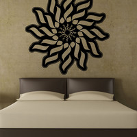 Vinyl Wall Decal Sticker Abstract Sun Design #5507
