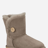 Ugg Bailey Button Girls Boots Bark  In Sizes