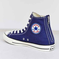 Converse Chuck Taylor All Star Washed Twill Back-Zip High-Top Men's Sneaker-