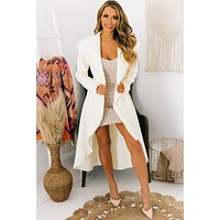 Forever Lasting High-Low Jacket (White)