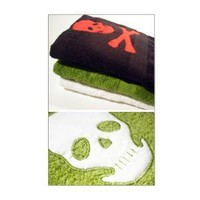 Skull Bath Towel