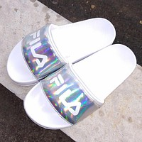 FILA Disruptor2 Woman Men Multicolor Fashion Sandals Slipper Flats Shoes