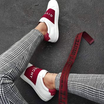 Givenchy Urban Street Elastic Slip-On Sneakers