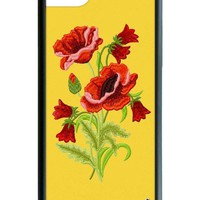 Yellow Floral iPhone SE/6/7/8 Case
