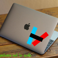 FREE SHIPPING! - twenty one pilots decal   TØP  - Multiple sizes available!