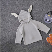 Children Sweaters Rabbit Ears Boys Girls Sweater