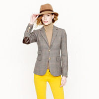 Hacking jacket in wool check