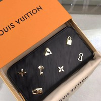 Kuyou Gb1986 Louis Vuitton Lv M63991 Epi Leather Small Leather Goods All Collections  Zippy Wallet 19.5 X 10.5 X 2.5 Cm