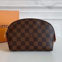 Louis Vuitton LV Classic Liner Bag Fashion Lady Cosmetic Bag Clutch