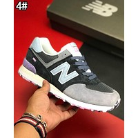 """New Balance"" Trending Women Men Stylish All-Match N Words Breathable Couple Sneakers Shoes 4#"