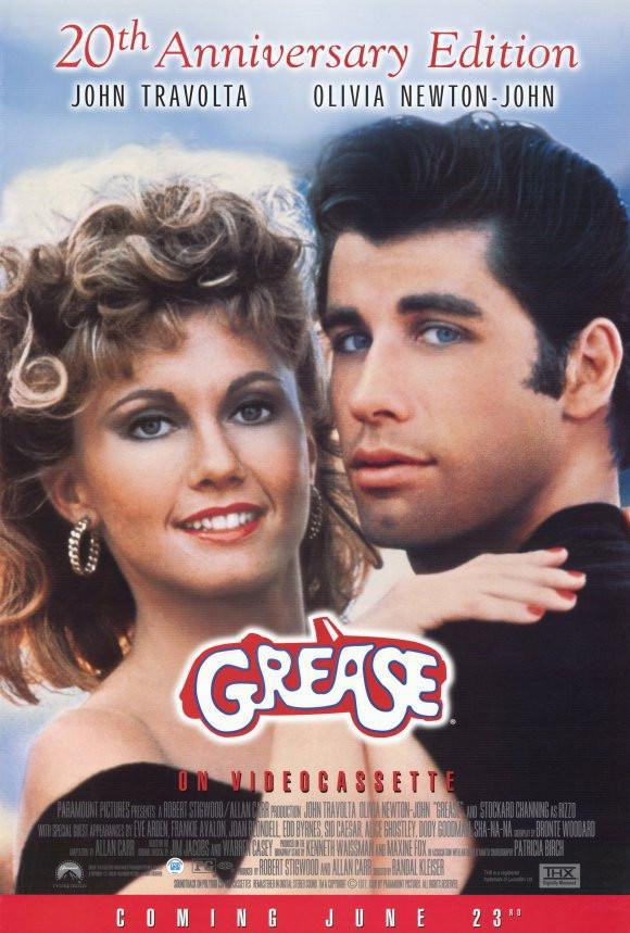 Image of Grease 27x40 Movie Poster (1997)