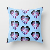 peace & love; Throw Pillow by Pink Berry Patterns