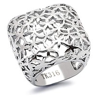 Fashion Rings For Women TK133 Stainless Steel Ring