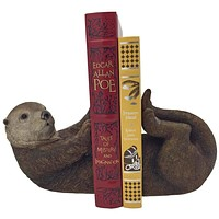 Otto The Otter Bookend Set