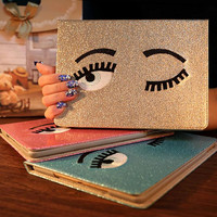 PU Leather Protetcive Case For Apple iPad Air 5 Tablet Case for iPad 6 Air 2 New Smart Cover Stand Flip Case for iPad 2/3/4